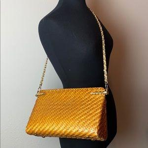 Rodo Vintage Straw Shoulder Bag